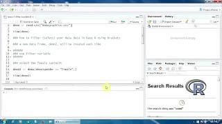 2. Filtering Data Using Brackets in R