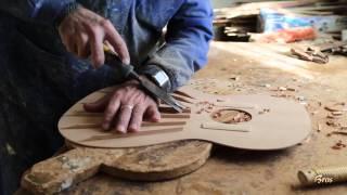 Documental de la construcción artesanal de las guitarras Francisco Bros.