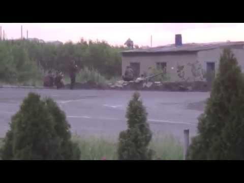 Дуэль артиллеристов. Видео - Дмитрий Жуков