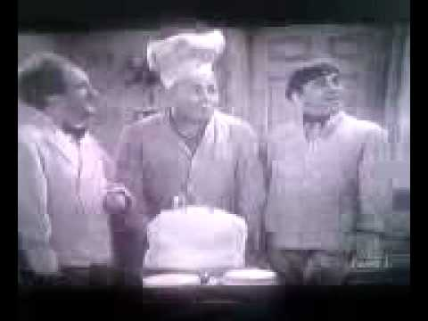 happy birthday cake 17. 3 Stooges Birthday Cake