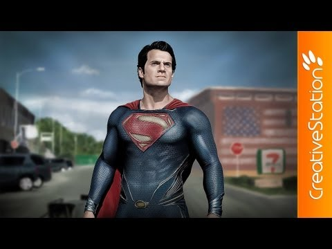 Man of steel - Speed painting ( #Photoshop ) | CreativeStation