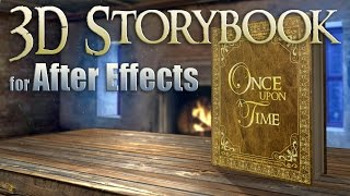 Custom 3D Storybook for After Effects
