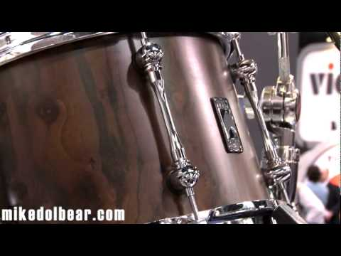 NAMM 2012 Mapex Retrosonic Walnut Kit