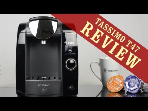Tassimo T47 Review - Single Cup Home Brewing System by Bosch - YouTube