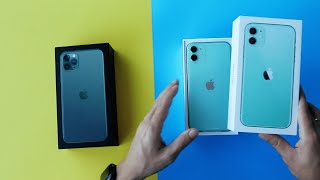 Unboxing del iPhone 11 y iPhone 11 Pro Max