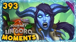 Mind Melting Sequence of RNG.! | Hearthstone Un'Goro Daily Moments Ep. 393 (Funny and Lucky Moments)