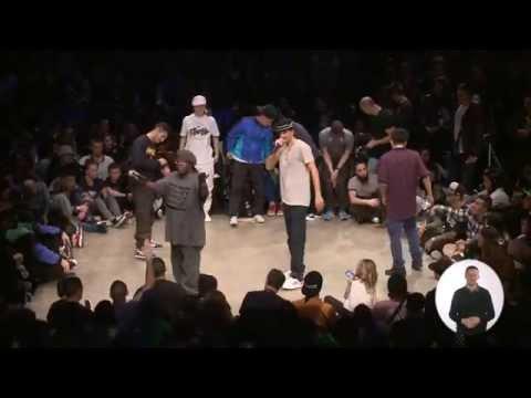 Finale vs1 Bboy : STARVIN SA EWL (USA) vs VICTOR (USA)