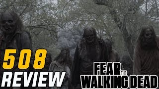 """Fear The Walking Dead Season 5 Episode 8 """"Is Anybody Out There?"""" REVIEW!!! (Midseason Finale)"""