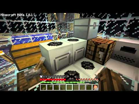 Minecraft Episode 13 - Industrialcraft Construction Foam and Nanosuit Armor