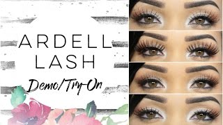(20 Pairs.) Ardell Lash Try-On/Demo feat. EyelashesUnlimited.com!