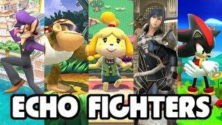 13 Possible Smash Bros. Ultimate Echo Fighters as Smash Bros. Wii U Skins [Mods]