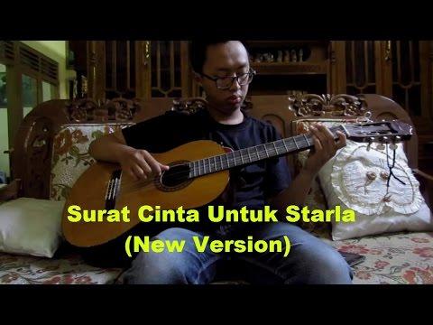 Fingerstyle guitar Surat  Cinta Untuk Starla (New Version)