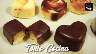 Como hacer BOMBONES RELLENOS | Homemade filled Chocolates