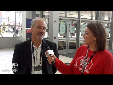 CEDIA 2014: rAVe Reporter Kristin Ruffin Talks to Doug Henderson of Bowers & Wilkins Pre-Show