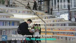 "70,000 people spend Spring Festival holiday in ""China's most beautiful library"""