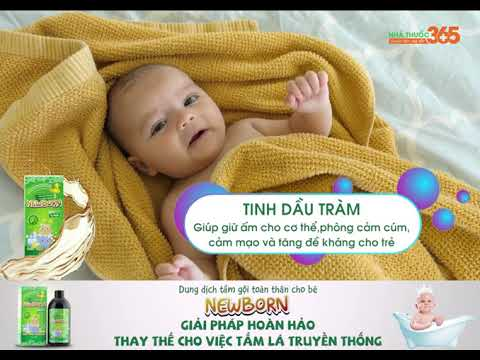 Dung dịch tắm gội toàn thân Newborn - Nước tắm thiên nhiên, thấu hiểu làn da bé