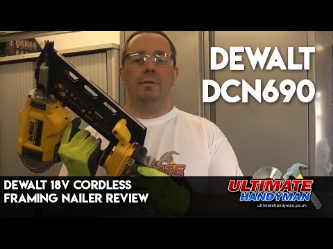Dewalt 18v cordless framing nailer review.