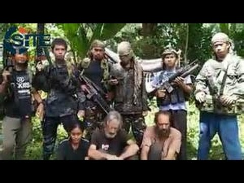 RAW Islamic State ISIS threat beheadings of 3 hostages & plot to capture Manny Pacquiao May 2016