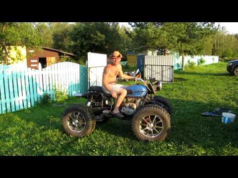 DMS2.0 Квадроцикл из МТ(Днепр) тест драйв!  ATV.