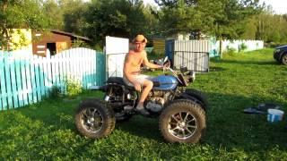 Шины низкого давления своими руками на мотоцикл
