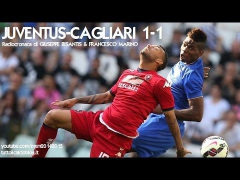 JUVENTUS-CAGLIARI 1-1 - Radiocronaca di Giuseppe Bisantis & Francesco Marino (9/5/2015) Radiouno RAI