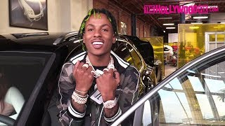 Rich The Kid Is Asked About His Beef With Lil Uzi Vert While Picking Up His Bentley 3.13.18