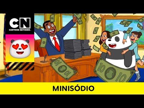 O Sonho do Panda   Ursos sem Curso   Minisódio   Cartoon Network