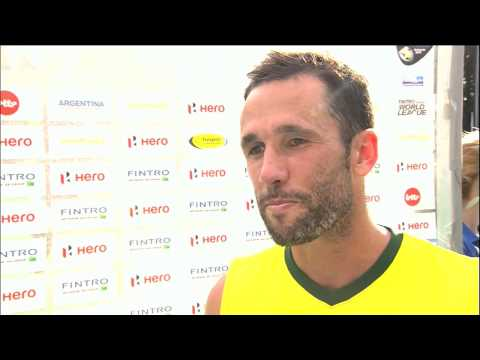 Post Match Interview Mark Knowles