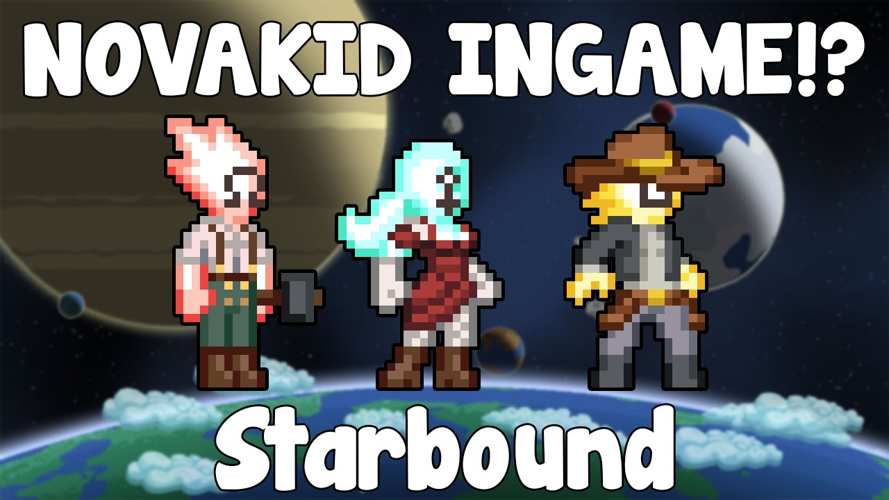 Novakid Starbound Novakid Ingame Starbound