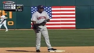2002 ALDS Gm5: Ortiz extends lead with RBI double