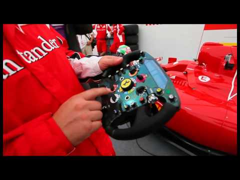 Про штурвал болида Ferrari
