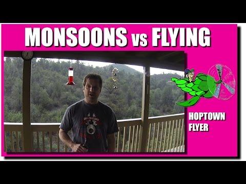Monsoons vs Flying