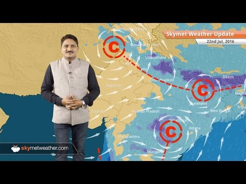 Weather Forecast for July 22: Heavy rains to continue UP, Bihar, Assam, Rain in Delhi