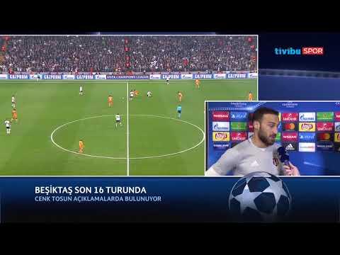 Cenk Tosun Röportajı (Beşiktaş - Porto Maç Sonu)