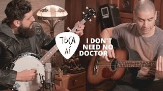 I Don't Need No Doctor - Ray Charles (Toca Aí Andi e Phill acoustic cover)