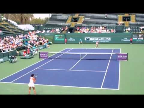 Bnp paribas open qualifying womens tennis match analysis cohen vs birnerova