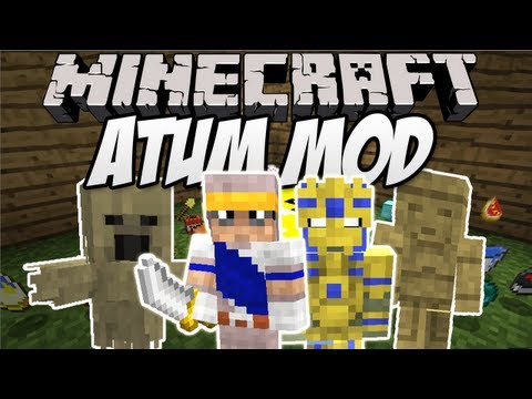 Minecraft: Atum: Journey to the Sands mod