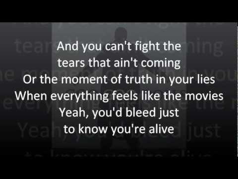 Goo Goo Dolls - Iris (lyrics)