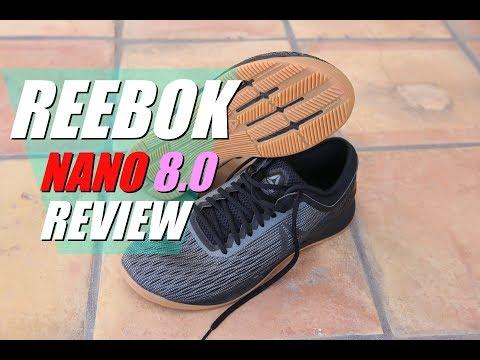Reebok NANO 8 REVIEW (v.s. Metcon3. DSX2. NoBull. Speed 2. Nano 6)