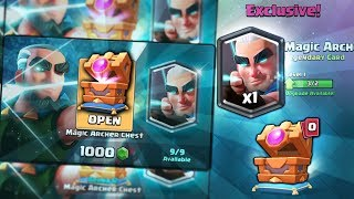 OPENING x9 NEW MAGIC ARCHER KINGS CHEST OFFERS! | Clash Royale | BEST MAGIC ARCHER CHEST OPENING!