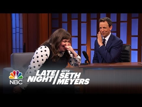 Aidy Bryant's Drake Moment - Late Night With Seth Meyers video
