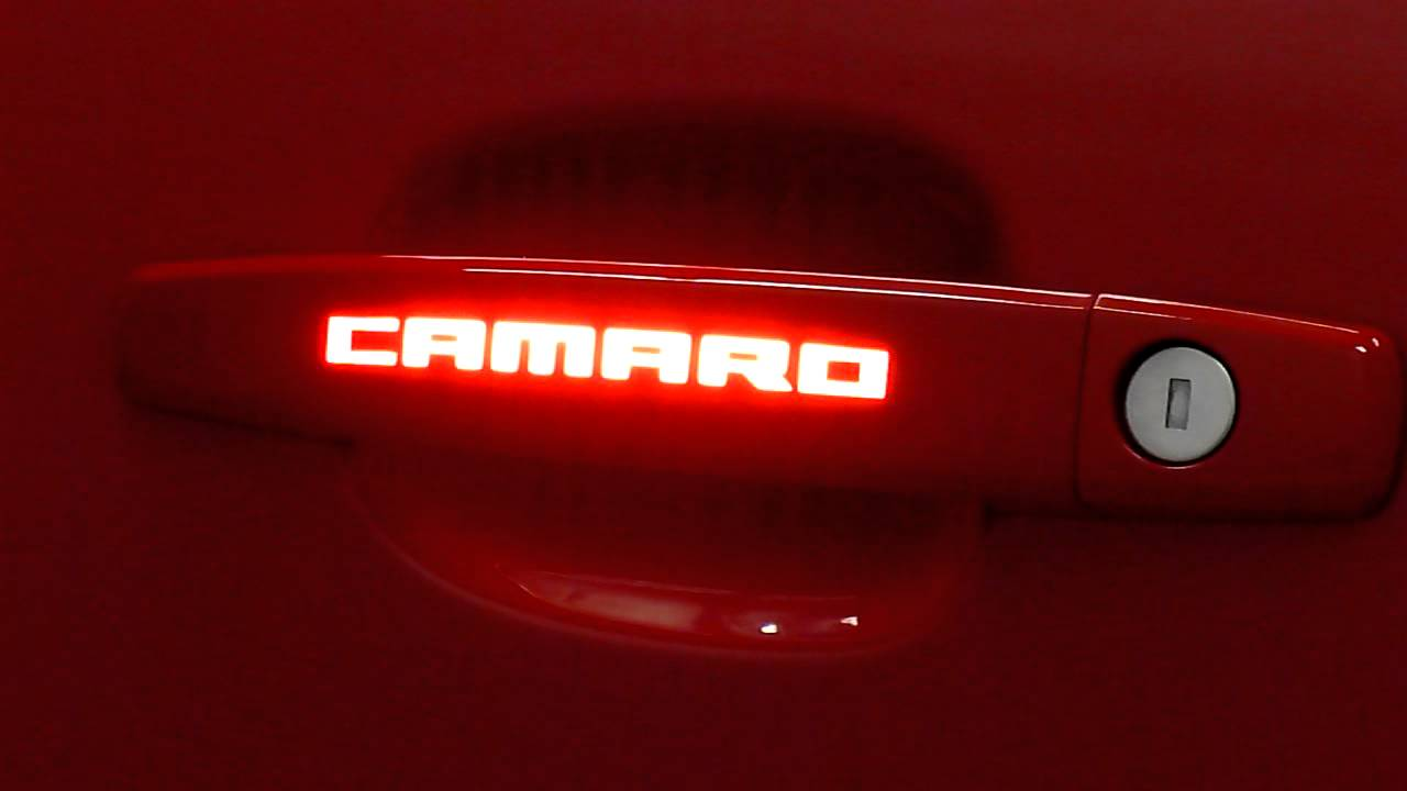 Phastek Performance Custom Camaro Lighted Door Handles