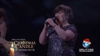 Susan Boyle (Joel Osteen): 'Miracle Hymn' song & The Christmas Candle Story (17 Nov 13) 2nd Show, TV