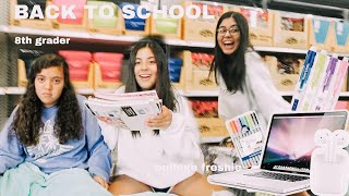 BACK TO SCHOOL supplies shopping + HAUL 2019!! Middle school VS. College student