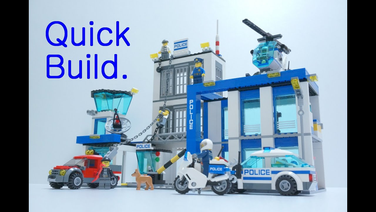 Lego City Police Station 60047 Quick Build 레고 경찰본부