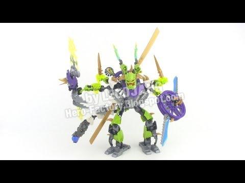 Hero Factory Stormer XL + Speeda Demon combiner REVIEW (Breakout wave 2)
