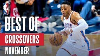 NBA's Best Crossovers   November 2018-19 NBA Season