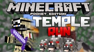 TEMPLE RUN EN MINECRAFT PE (Pocket Edition) 0.15.2 | Mapas Para Minecraft PE 0.15.2