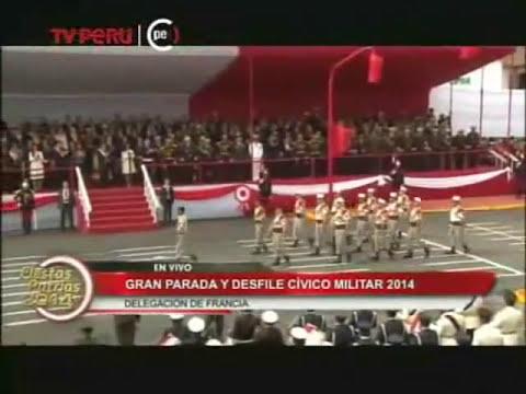Delegaciones extranjeras en la Parada Militar Perú  ★ 2014 ★
