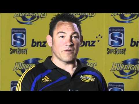 Mark Hammett talks about the 2012 Hurricanes Squad